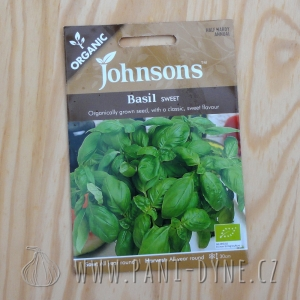 Osiva - Bazalka, Johnsons seeds