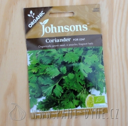 Osiva - Koriandr, Johnsons seeds